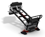 New Sled Attachment used as a wheel borrow, lift and push